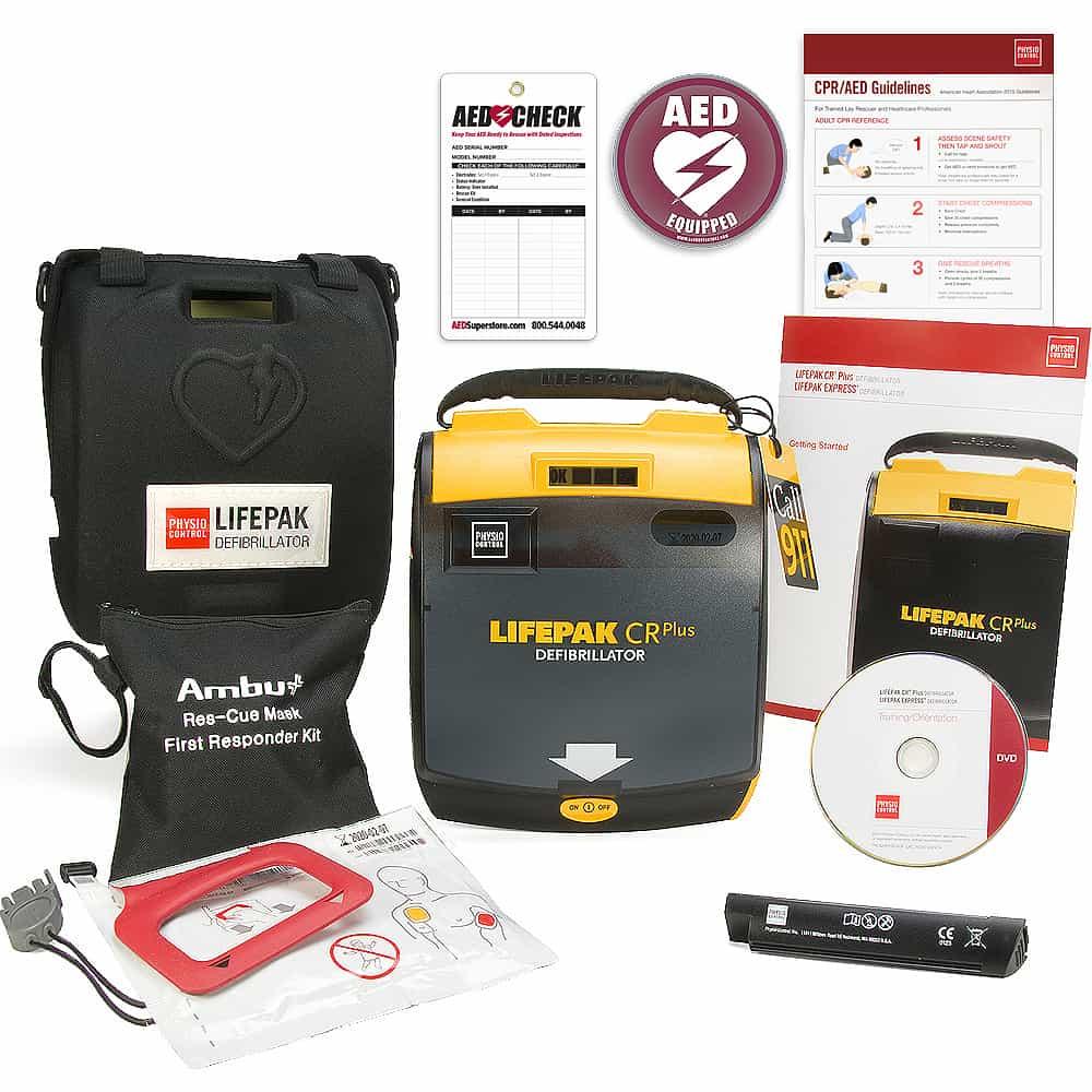 Accessoires défibrillateur / Defibrillator-Zubehör /  Accessori per defibrillatori